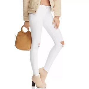 Host Pick 🌟 White Distressed Hidden Jeans